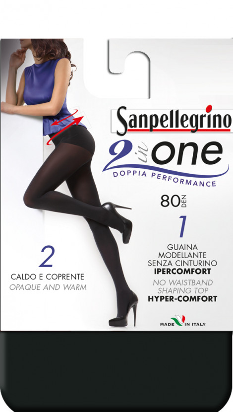 Collant 2 IN ONE 80 Sanpellegrino